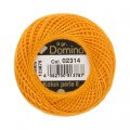 Domino Cotton Perle Size 8 Embroidery Thread (8 g), Orange - 4598008-02314
