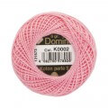 Domino Cotton Perle Size 8 Embroidery Thread (8 g), Pink - 4598008-K0002