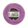 Domino Cotton Perle Size 8 Embroidery Thread (8 g), Purple - 4598008-K0004