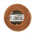 Domino Cotton Perle Size 8 Embroidery Thread (8 g), Brown - 4598008-K0009