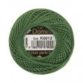 Domino Cotton Perle Size 8 Embroidery Thread (8 g), Green - 4598008-K0012