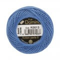 Domino Cotton Perle Size 8 Embroidery Thread (8 g), Blue - 4598008-K0013
