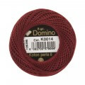 Domino Cotton Perle Size 8 Embroidery Thread (8 g), Red - 4598008-K0014