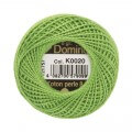 Domino Cotton Perle Size 8 Embroidery Thread (8 g), Green - 4598008-K0020