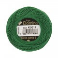Domino Cotton Perle Size 8 Embroidery Thread (8 g), Green - 4598008-K0017