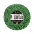 Domino Cotton Perle Size 8 Embroidery Thread (8 g), Green - 4598008-K0019