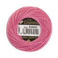 Domino Cotton Perle Size 8 Embroidery Thread (8 g), Pink - 4598008-K0024