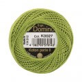 Domino Cotton Perle Size 8 Embroidery Thread (8 g), Green - 4598008-K0027