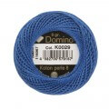 Domino Cotton Perle Size 8 Embroidery Thread (8 g), Blue - 4598008-K0029