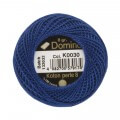 Domino Cotton Perle Size 8 Embroidery Thread (8 g), Blue - 4598008-K0030