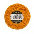 Domino Cotton Perle Size 8 Embroidery Thread (8 g), Orange - 4598008-K0032