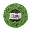 Domino Cotton Perle Size 8 Embroidery Thread (8 g), Green - 4598008-K0034