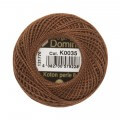 Domino Cotton Perle Size 8 Embroidery Thread (8 g), Brown - 4598008-K0035