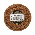 Domino Cotton Perle Size 8 Embroidery Thread (8 g), Brown - 4598008-K0075