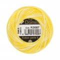 Domino Cotton Perle Size 8 Embroidery Thread (8 g), Variegated - 4598008-K0087