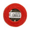 Domino Cotton Perle Size 8 Embroidery Thread (8 g), Red - 4598008-K0108