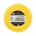 Domino Cotton Perle Size 8 Embroidery Thread (8 g), Yellow - 4598008-K0136