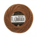 Domino Cotton Perle Size 8 Embroidery Thread (8 g), Brown - 4598008-K0137