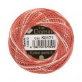 Domino Cotton Perle Size 8 Embroidery Thread (8 g), Variegated - 4598008-K0171