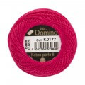 Domino Cotton Perle Size 8 Embroidery Thread (8 g), Pink - 4598008-K0177
