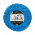 Domino Cotton Perle Size 8 Embroidery Thread (8 g), Blue - 4598008-K0191