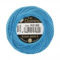Domino Cotton Perle Size 8 Embroidery Thread (8 g), Blue - 4598008-K0192