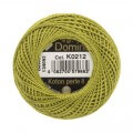 Domino Cotton Perle Size 8 Embroidery Thread (8 g), Green - 4598008-K0212