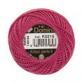 Domino Cotton Perle Size 8 Embroidery Thread (8 g), Purple - 4598008-K0215