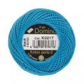 Domino Cotton Perle Size 8 Embroidery Thread (8 g), Blue - 4598008-K0217