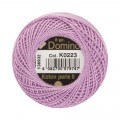 Domino Cotton Perle Size 8 Embroidery Thread (8 g), Purple - 4598008-K0223