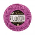 Domino Cotton Perle Size 8 Embroidery Thread (8 g), Purple - 4598008-K0225