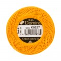 Domino Cotton Perle Size 8 Embroidery Thread (8 g), Orange - 4598008-K0227
