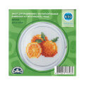 RTO Baltic 5.5 cm Embroidery Kit with Magnet Frame, Orange - MGH02
