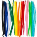 PonArt 7 Renk 50 Adet 40 cm Şönil Pipo Temizleyicisi