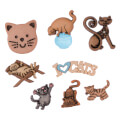 Dress It Up Creative Button Assortment, Feline Fancy - 371