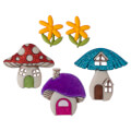 Dress It Up Creative Button Assortment, Shroom With A View - 9002