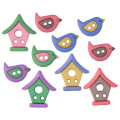 Dress It Up Creative Button Assortment, Bird Neighborhood - 9395