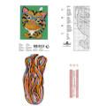 Permin 7x9 cm Kaplan Desenli Suda Eriyebilen Etamin Kiti - 795806