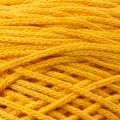 Spagettiyarn Pamuklu Makrome Hardal Sarısı El Örgü İpi - 25