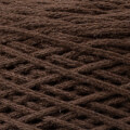 Spagettiyarn Pamuklu Makrome Kahverengi El Örgü İpi - 11