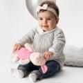 La Mia Baby Cotton Siyah El Örgü İpi - L006