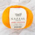 Gazzal Baby Cotton Knitting Yarn, Orange - 3416