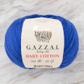 Gazzal Baby Cotton Knitting Yarn, Blue - 3421