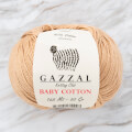Gazzal Baby Cotton Knitting Yarn, Beige - 3424