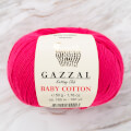 Gazzal Baby Cotton Knitting Yarn, Pink - 3415