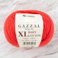Gazzal Baby Cotton XL Baby Yarn, Red - 3418XL
