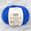 Gazzal Baby Cotton XL Knitting Yarn, Blue -3421XL