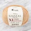 Gazzal Baby Cotton XL Knitting Yarn, Beige -3424