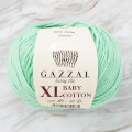 Gazzal Baby Cotton XL Knitting Yarn, Pastel Green - 3425XL
