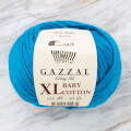 Gazzal Baby Cotton XL Knitting Yarn, Blue -3428XL